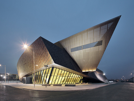 конференц-центр Mons International Congress Xperience - © Libeskind